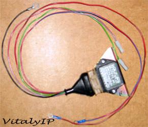 Блок ЭПХХ с косой проводов